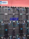 Tela de indicador Rental de fundição interna/ao ar livre do diodo emissor de luz do gabinete de alumínio do diodo emissor de luz P3.91/P4.81/P5.95