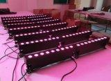 Arandela de la pared del transmisor LED de la batería de 2016 nueva 9X15W Rgabw