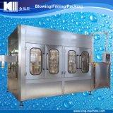Bebidas calientes de la botella plástica automática que lavan la máquina que capsula de relleno