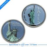昇進のギフトのためのカスタム記念品の挑戦硬貨