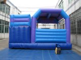 Bouncer combinato blu gonfiabile