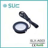 Ultra Slim Round 3W en gros décoratif en dessous de la lampe de cabinet (SLCG-A003-1)