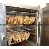Horno automático del humo de la casa del humo del fumador de la carne del acero inoxidable para la venta