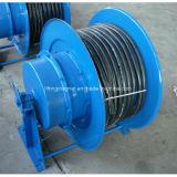 Carrete de cable del resorte espiral para el imán de la grúa
