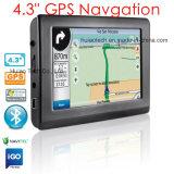 """do """" navegação portátil PDA do GPS do navegador do GPS do caminhão do veículo carro 4.3 com o mapa 2016, mapa de Igo da sustentação de painel do toque 480*272 de Navitel com câmera da velocidade, came traseira do estacionamento"""