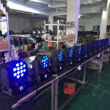 DMX512 RGBW Movinghead LED 광속 12X12W