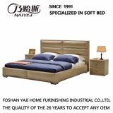 نمو [دووبل بد] تصميم حديثة غرفة نوم أثاث لازم جلد سرير ([غ7005])