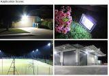2017 10W 20W 30W 50W 100W impermeabilizan la luz de inundación al aire libre de la MAZORCA LED con el sensor del infrarrojo del movimiento