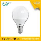 Bulbo do diodo emissor de luz de E14 5W G45 com tubulação leve para dentro