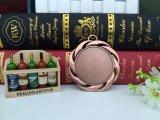 明白な締縄が付いているカスタマイズされた2017の3D青銅色のスポーツメダル