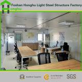 oficina prefabricada de la casa de la casa del envase de los 20ft en China