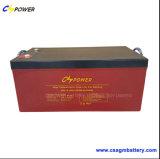 batterie rechargeable de l'énergie 12V230ah solaire, 50% Dod 1500cycles