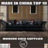 Insieme di lusso alla moda del sofà del cuoio della mobilia della casa di alta qualità