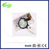 2.5 Magnifier tenuto in mano di X-45 X con l'indicatore luminoso del LED per valuta che rileva funzione
