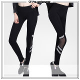 High Quality Custom Sublimation Print Women Sport Nylon Leggings