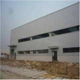 Edificio ligero moderno de la fábrica del taller de la estructura de acero para la venta