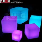 Cubo del LED para los vectores caseros vivos del cubo de la iluminación de la esquina de la base