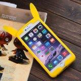 iPhone를 위한 사랑스러운 Pikachu 형식 3D 패턴 실리콘 상자