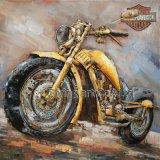 Farbanstrich-Wand-Kunst des Metall3d für Motobike