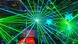 3W RGBのフルカラーのアニメーションのレーザー光線の段階の照明