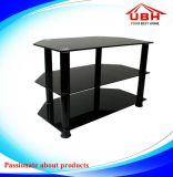 Breve banco di mostra di vetro del supporto dell'alluminio e della mensola