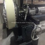El PLC controla la máquina que raja para la película plástica