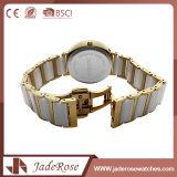 Analog-Digital大きいダイヤルのステンレス鋼の方法水晶腕時計