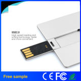 Bastone di memoria del USB del biglietto da visita della lega di alluminio di capacità elevata 32GB