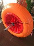 350-8ラインパターンPUの泡の車輪