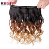 Prolonge normale brésilienne de cheveu d'onde de cheveux humains de la pente 8A