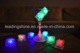 Pub decoración de la barra LED parpadeante cubos de hielo coloridos