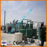 Mini óleo de lubrificação do motor do motor do desperdício do preto que recicl para amarelar refinarias de petróleo baixas