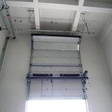 Portes industrielles sectionnelles de levage verticales automatiques d'usine