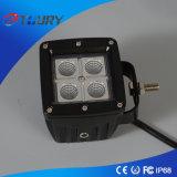 Luz de trabajo de la lámpara del alimentador LED del jeep de la iluminación 20W del coche del LED