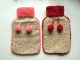 高品質のギフトの熱湯袋の羊毛カバー