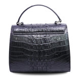 Bolso de totalizador de lujo de calidad superior de señora Genuine Crocodile Leather Handbag