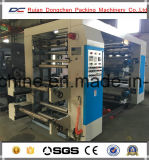 Impresora plástica de Flexo del carrete de película del PE de los colores de la velocidad 4 de Wenzhou