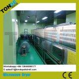 Machine de séchage de stérilisation par micro-ondes de graine de fleur de convoyeur d'écran de tunnel