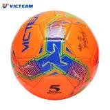 ODM cosido máquina de regla del balón de fútbol del peso de la talla