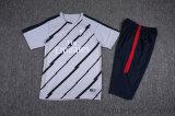 習慣新しいデザインフットボールのトレーニングのワイシャツのサッカージャージー