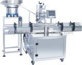 Máquina de rellenar líquida de la goma de 8 pistas + capsulador rotatorio/equipo de envasado que capsula