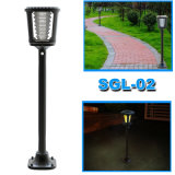 2W Solar LED Garden Lawn Light