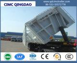 3側面にダンプの持ち上がることを用いる半車軸35cbmダンプのトレーラーのダンプトラックのダンプカー