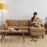 Einfache Entwurfs-Wohnzimmer-modernes Gewebe-Sofa für Hauptgebrauch