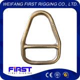 Сваренное оборудованием кольцо треугольника с распоркой