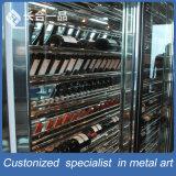 Rek van de vertoning van de Wijn van de Verkoop van de fabriek het Zilveren Multi-Layer voor Suppermarke/Club