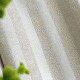 Rideau en guichet solide d'arrêt total de jacquard de bon de main polyester de sensation (22W0024)