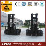 Forklift chinês com mastro de 7m Forklift do diesel de 5 toneladas