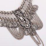 L'annata Chain Exaggerated conia i monili della collana della lega di modo di istruzione della nappa