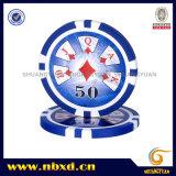 microplaqueta do póquer da etiqueta 11.5g com etiquetas disponíveis (SY-D17E-1)